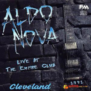 "ALDO NOVA: ""Live at Empire Club-Cleveland"""