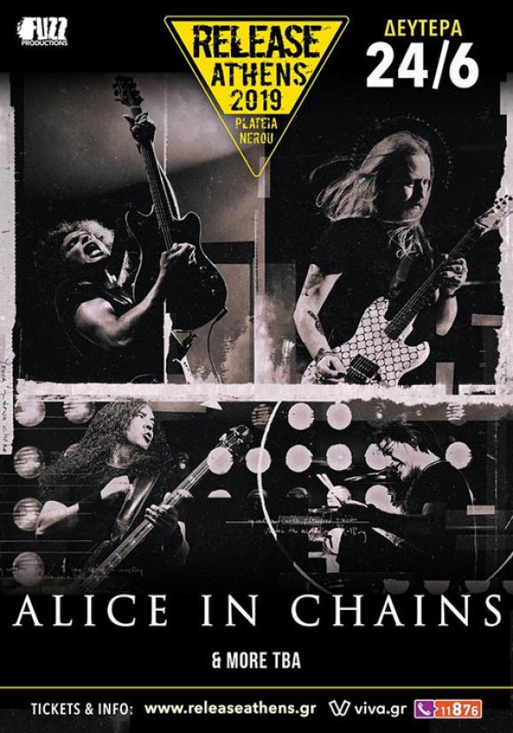 Οι Alice In Chains στο Release Athens 2019!